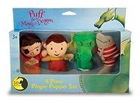 Puff, the Magic Dragon Plush Finger Puppet Set パフは魔法のドラゴンぬいぐるみフィンガーパペットセット♪ハロウィン♪サイズ:
