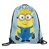 ミニオンズ 映画 ケビン 画像 バナナ 巾着袋 ジムサック 運動 ナップサック スポーツバック スポーツ用バッグ バックパック