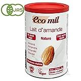 EcoMil 有機アーモンドミルク ストレート(パウダー/無糖)400g