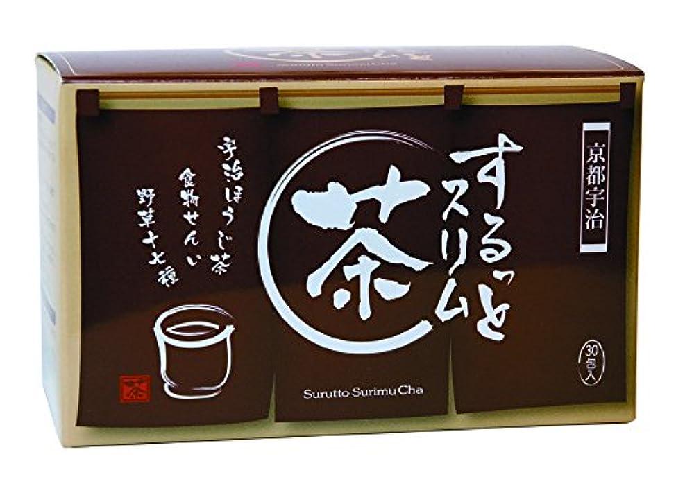 ルーフありがたい粘り強いするっとスリム茶 3.5g×30包