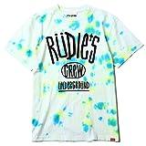 (ルーディーズ) RUDIE'S DRAWING DYED-T (SS:TEE)(84698-VI) Tシャツ 半袖 タイダイ染め XL ウイルス