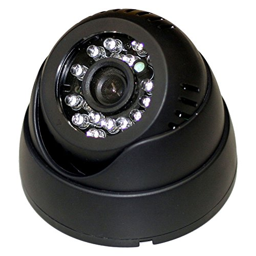 赤外線LED搭載ドーム型防犯カメラ