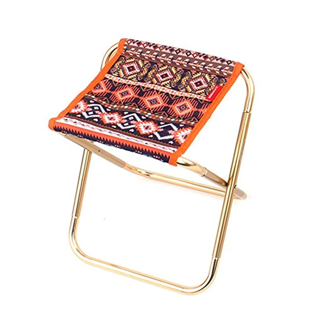 着実にウィスキー酸っぱいZGL 旅行椅子 アウトドアフォークカスタム折りたたみスツールアルミ合金アダルトミニスツールポータブル釣りスツールホームスツール110kgをベアリング (色 : Style-2)