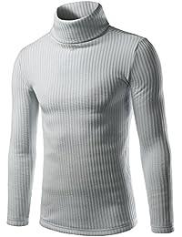 (ワトリズ)Whatlees メンズ ニット タートルネック 無地 おしゃれ セーター