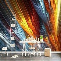Lcymt 壁の家の改善の現代壁紙のための注文の抽象芸術3Dの壁紙の背景の壁絵画壁画の絹の紙-350X250Cm