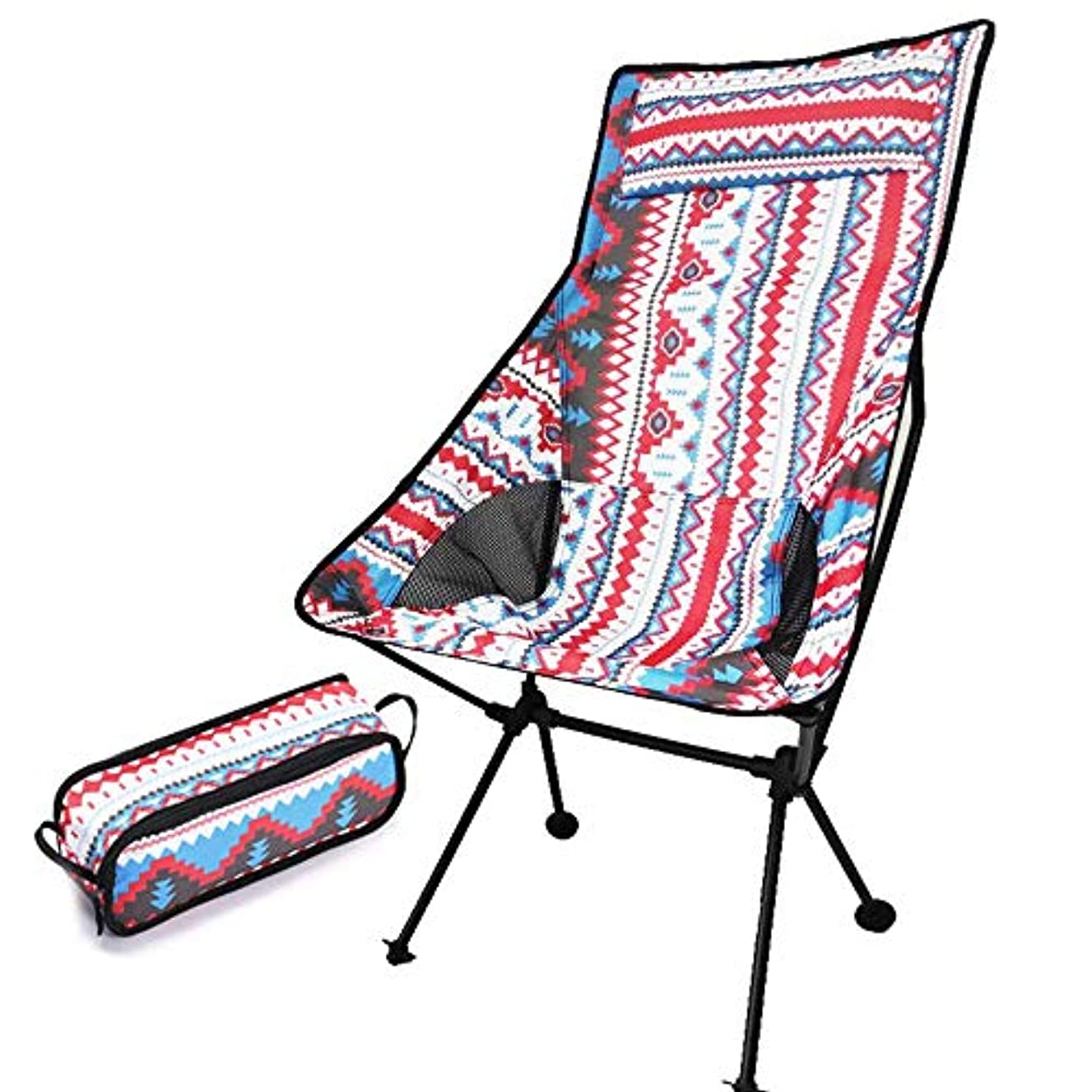 チャンバー無礼にバウンスMIRROR SHOP アウトドアチェア ハイバックアウトドアチェア 折りたたみ レジャー 軽量 ハンモック 椅子 イス コンパクト 収納バック ad162