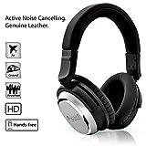 NoiseHush i7 アビエイター アクティブ ノイズ キャンセル の 上 耳 ヘッドフォン 音響 高 定義 ステレオ ヘッドセット- 小売 包装 - ..