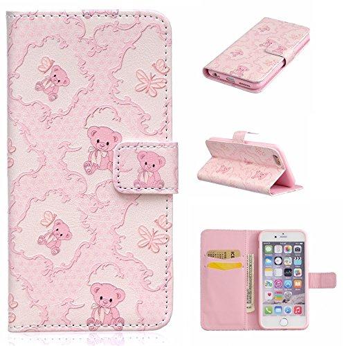 UNEXTATI iPhone 6 / 6s 手帳型 ケース...