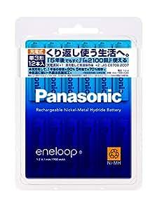パナソニック eneloop 単3形充電池 12本パック スタンダードモデル BK-3MCC/12