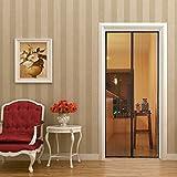 玄関網戸 マグネット 玄関カーテン 自動で閉まる 網戸カーテン 玄関口/ドア/ベランダ、テラス用メッシュ スクリーンドア