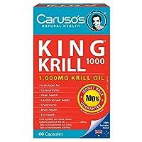 Carusos Natural Health King Krill 1000MG 60 Capsules