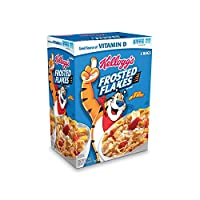 Kellogg 's Frosted Flakes Cereal – 61.9 Oz with 2つバッグfor freshness