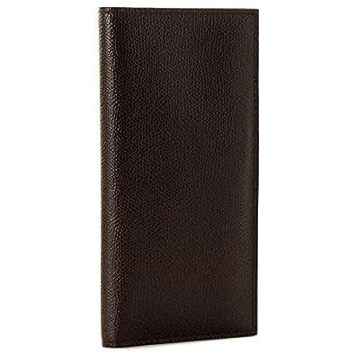 Valextra(ヴァレクストラ) 財布 メンズ グレインレザー 2つ折り長財布 ダークブラウン V8L21-028-000T[並行輸入品]