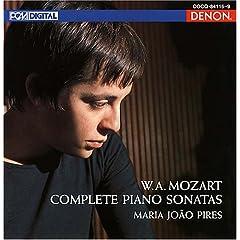 マリア・ジョアン・ピリス演奏 モーツァルト生誕250年記念BOX モーツァルト:ピアノソナタ全集のAmazonの商品頁を開く