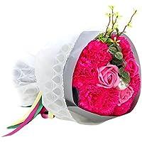 FDLH ソープフラワー カーネーション 枯れないお花 お祝い 誕生日の花束