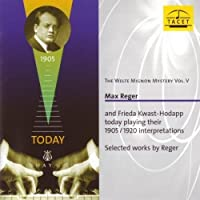 The Welte-Mignon Mystery Volume V by Max Reger (2013-05-03)