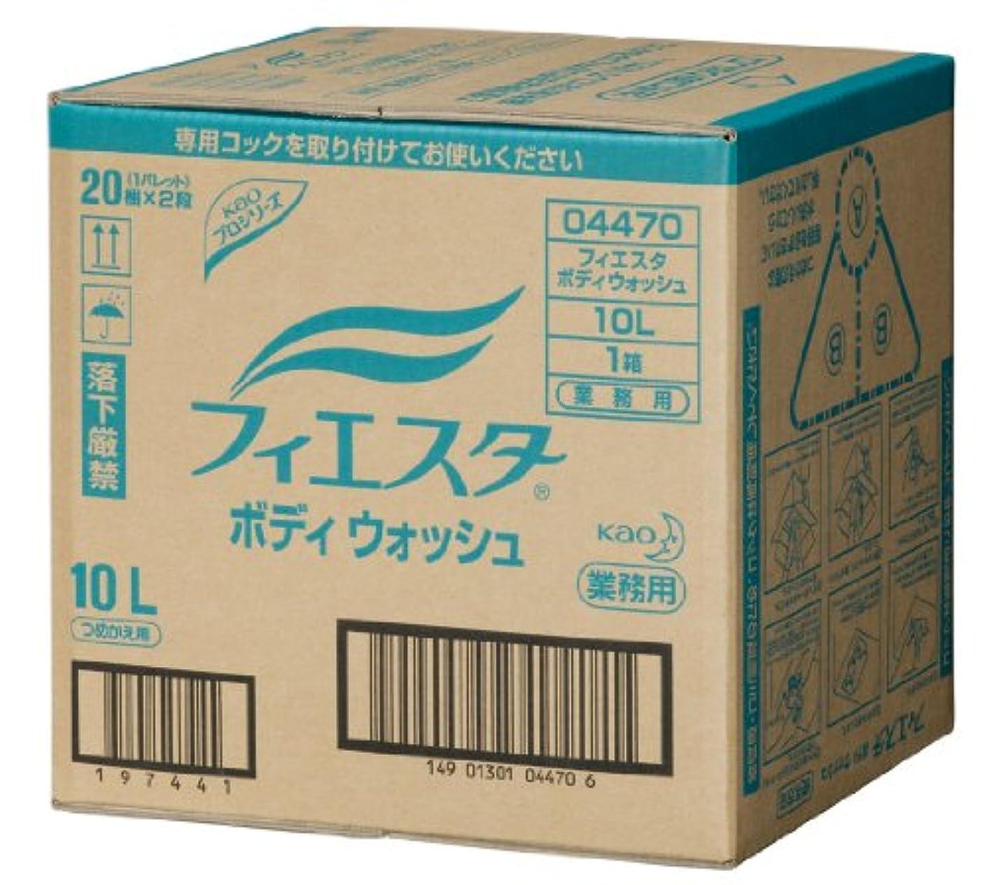 パッケージはがき松明花王プロシリーズ フィエスタ ボディウォッシュ 10L