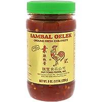 チリペースト Sambal Oelek Ground Fresh Chili Paste サンバルオレック グラウンド Huy Fong Foods Inc (フイフォン・フード) [並行輸入品]