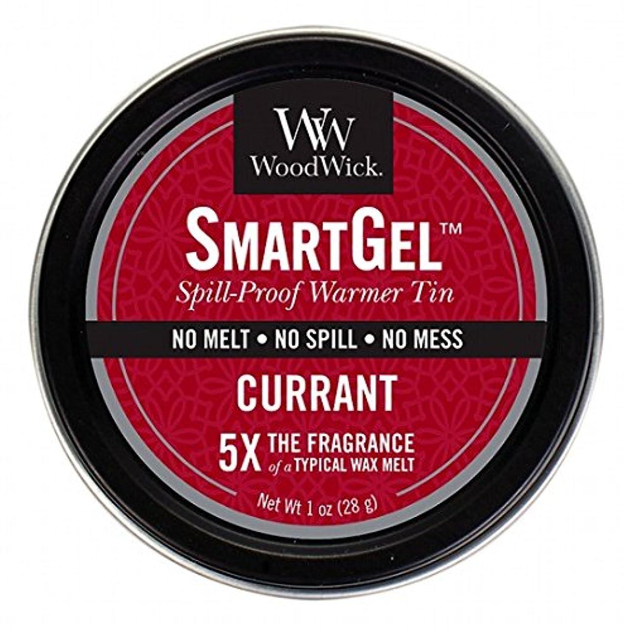 不毛電池気味の悪いWoodWick(ウッドウィック) Wood Wickスマートジェル 「 カラント 」W9630520(W9630520)