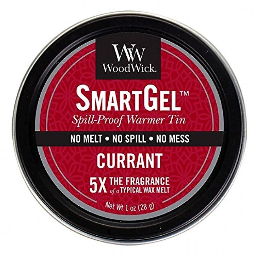 バター媒染剤誠意ウッドウィック( WoodWick ) Wood Wickスマートジェル 「 カラント 」W9630520