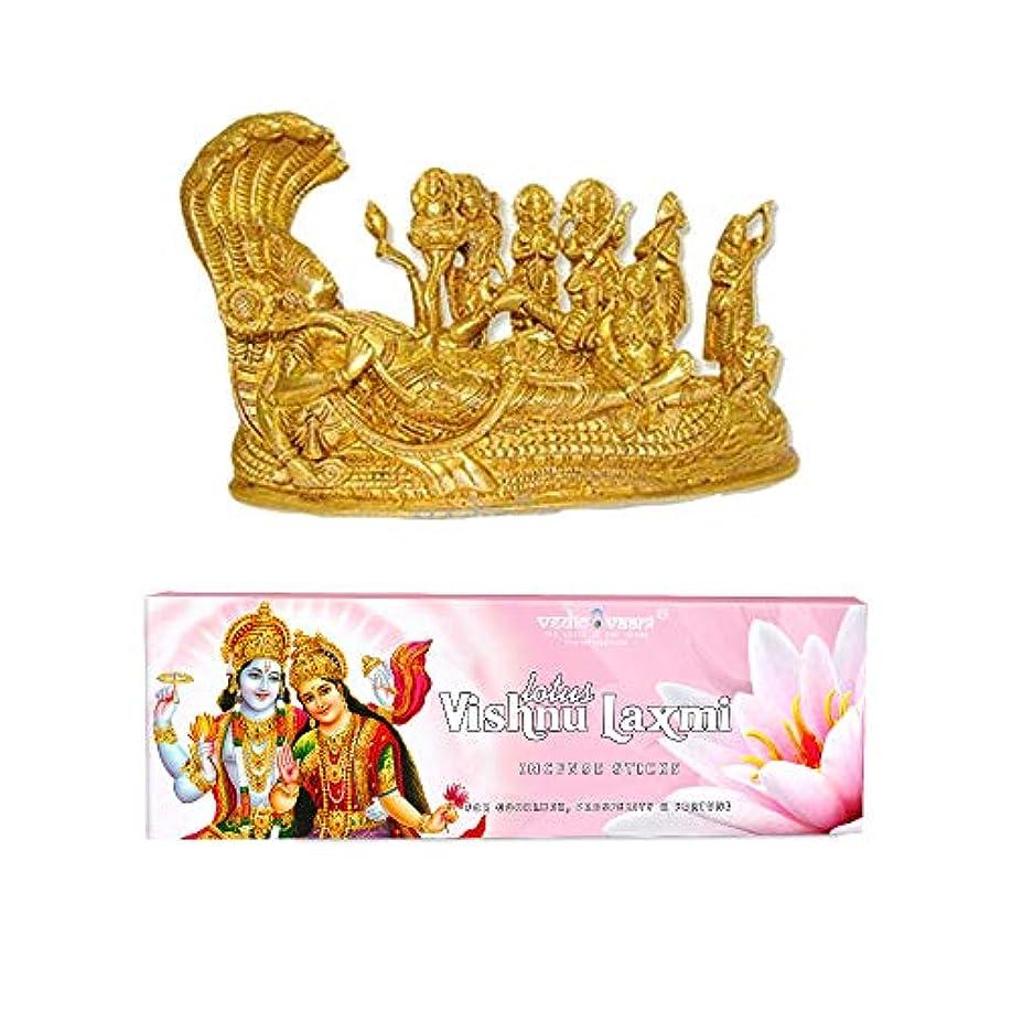 キャプテン大胆事実Vedic Vaani Vishnu Pariwar with Vishnu Laxmi お香スティック