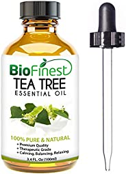 Biofinest Tea Tree Essential Oil - 100% Pure Undiluted - Therapeutic Grade - Australia Quality - Best For Arom