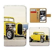(ティアラ) Tiara iPhone 5/5s iphone5s スマホケース 手帳型 クラッシック 手帳ケース カバークラシックカー アメ車 レトロ ビンテージ E0282040041005