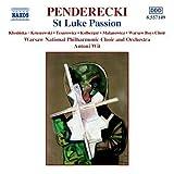 ペンデレツキ:ルカ受難曲