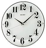 セイコー クロック 掛け時計 アナログ 白 KX608W SEIKO