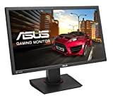 ASUS 24-inch 4K UHD FreeSync Gaming Monitor [MG24UQ] IPS, 4ms Response Time, HDMI 1.4, HDMI 2.0, Display Port, 3840 x 2160 Display with Pivot, Tilt, and Swivel, ASUS EyeCare by Asus