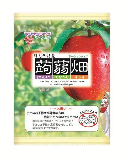 マンナンライフ 蒟蒻畑 りんご味 (25g×12個)×12袋