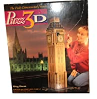 Puzz 3d Big Ben 1483ピースover 50インチTall