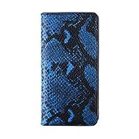 【日本正規代理店品】 GAZE iPhone6s/6 レザーケース 本革 Blue Python Diary ダイアリータイプ  GZ6756iP6S