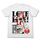 ラブライブ! 西木野真姫フルカラーTシャツ ホワイト サイズ:L