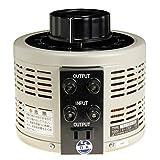 山菱電機  電圧調整器  ボルトスライダー  S-130-10  入力:単相2線 100V 容量:1KVA
