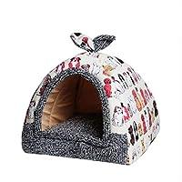 ホットフリースソフトペットパオホーム犬ベッド子犬犬犬小屋ペットベッドハウス用犬猫小動物ホーム犬ハウスでマットチワワ、b、35x35x40cm