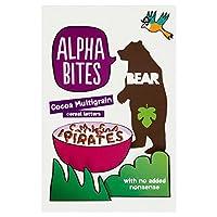 Bear Alpha Bites Cocoa Multigrain Cereal Letters (375g) クマアルファ刺さココアマルチグレイン穀物の手紙( 375グラム)