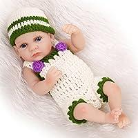 Nicery 生まれ変わった赤ちゃん人形おもちゃハードシミュレーションシリコンビニール10インチ26cm防水おもちゃとギフト Reborn Baby Doll RD26006B