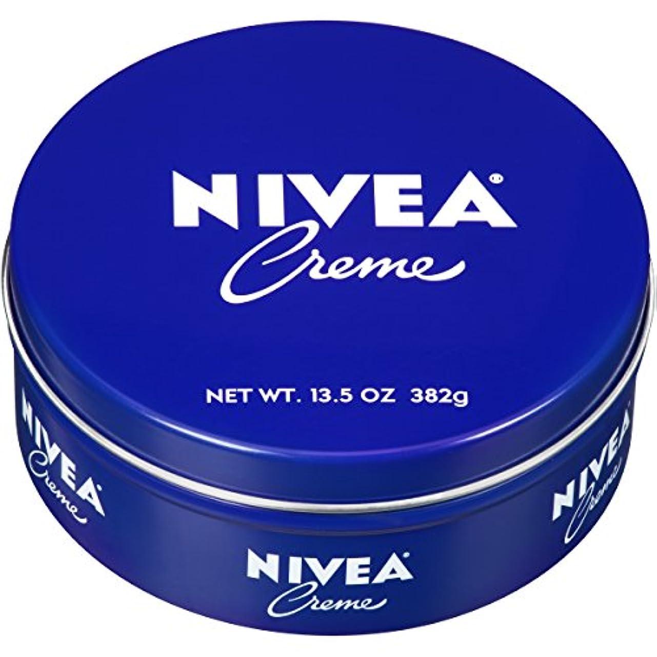 小説競争力のある帰するNIVEA ニベア クリーム 特大サイズ 400g アルミ缶