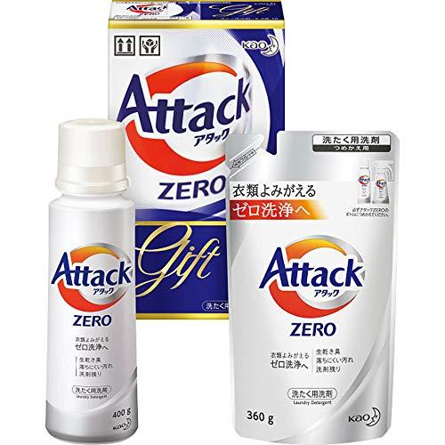 アタック ZERO(ゼロ) 洗濯洗剤 液体 ギフト(K-AB-10)衣類よみ...