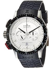 [エドックス]EDOX 腕時計 クロノラリー1 クォーツクロノグラフ 10305-3NR-AN メンズ 【正規輸入品】
