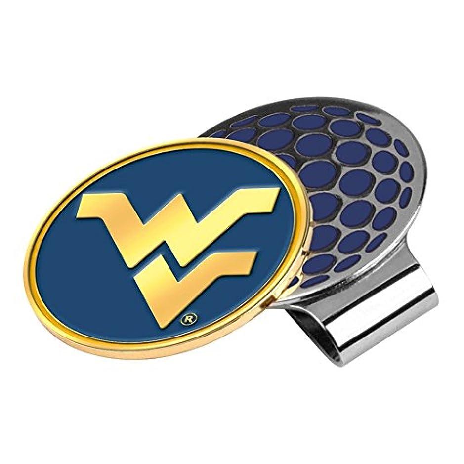 異なるファウル子孫West Virginia Mountaineers Golf Hat Clip & Ball Marker
