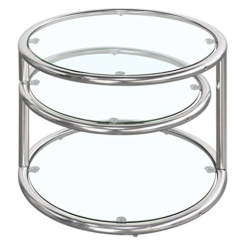 TKM 3段 ガラステーブル
