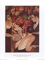 レミーのおいしいレストランby Juarez Machado 14X 11アートプリントポスター