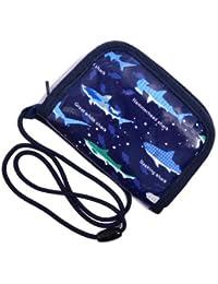はじめてのお財布シリーズ わくわくキッズコインケース(ひも付き) 大海原の海遊シャーク(ネイビー) 日本製 N5611100