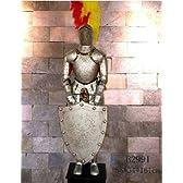 西洋甲冑 中世 鎧 兜 剣 騎士 ナイト アーマー シールド 高さ1.6m FB2991 並行輸入品