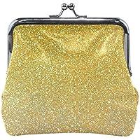 がま口 財布 口金 小銭入れ ポーチ 点 金色 Jiemeil バッグ かわいい 高級レザー レディース プレゼント ほど良いサイズ