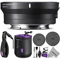 SigmaマウントコンバーターMC - 11レンズアダプタ( Sigma EFマウントレンズ Sony Eカメラ) エッセンシャルフォトセット