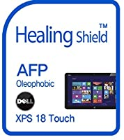 Healingshield スキンシール液晶保護フィルム Oleophobic AFP Clear Film for Dell Laptop XPS 18 Touch