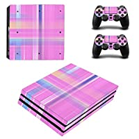 Zhhlinyuan 安定した品質 Skin Sticker Vinyl ステッカー Cover for PlayStatio PS4 Pro Console+Controllers 0145